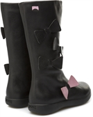 Camper bow boot-boots-Fussy Feet Childrens Shoes