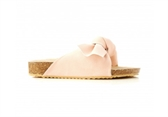 Walnut Somerset Slide-girls-Fussy Feet Childrens Shoes