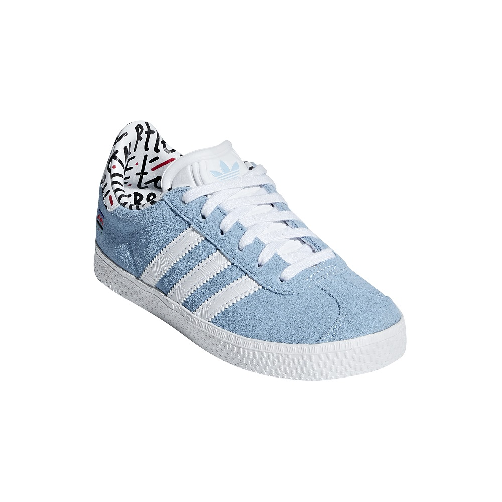 9fe3cee7cacfca Adidas Gazelle Junior - Girls Shoes - Casual - Laces Adidas T2 2018