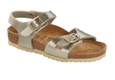Birki Rio Met / Patent-sandals-Fussy Feet - Childrens Shoes